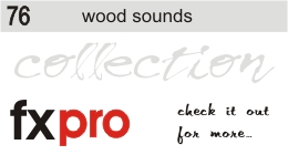 76. Wood Sounds