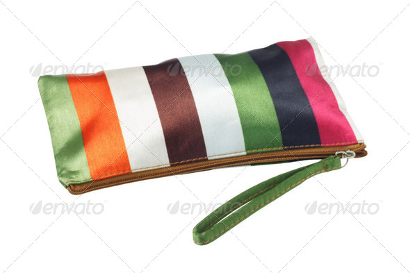 Colorful Cosmetic Bag - Stock Photo - Images