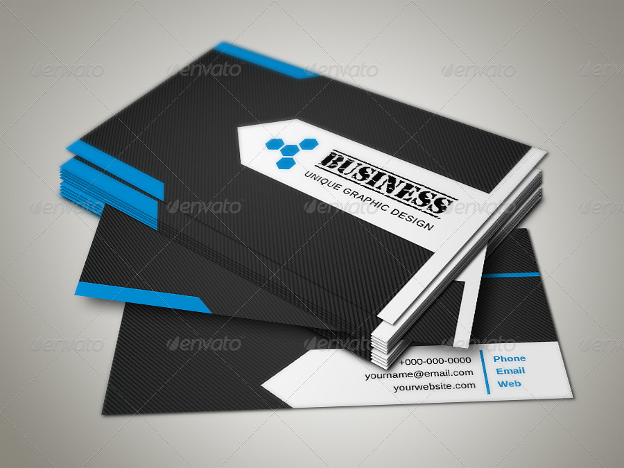 Pro Business Card by -axnorpix | GraphicRiver