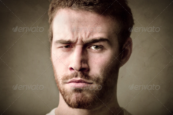 Puzzled Face - Stock Photo - Images