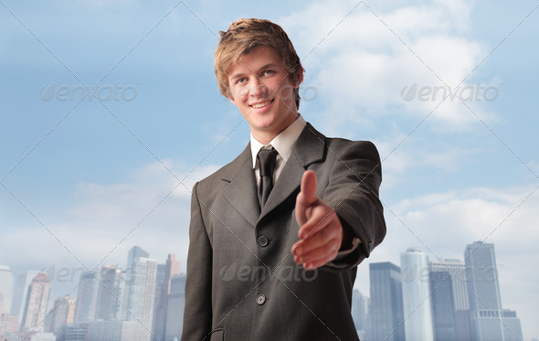 Business Thumb Up - Stock Photo - Images