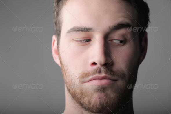 Observant Look - Stock Photo - Images