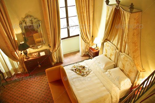 Luxury Hotel Room - Stock Photo - Images