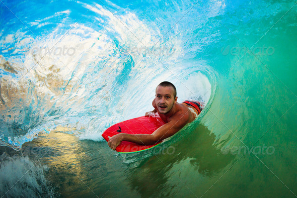 In the Barrel - Stock Photo - Images