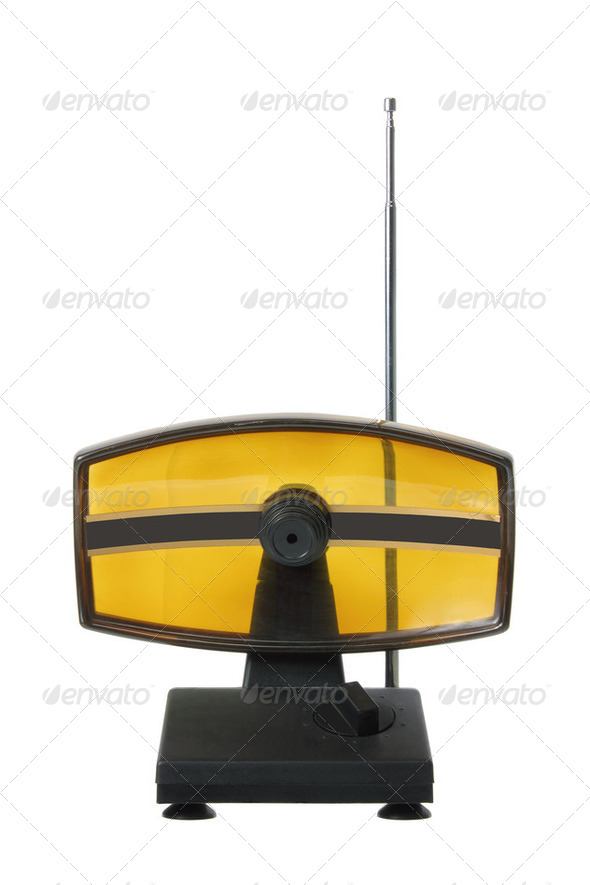 Indoor Antenna - Stock Photo - Images