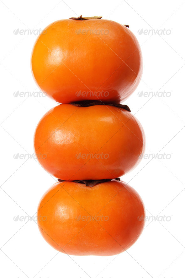 Persimmons - Stock Photo - Images