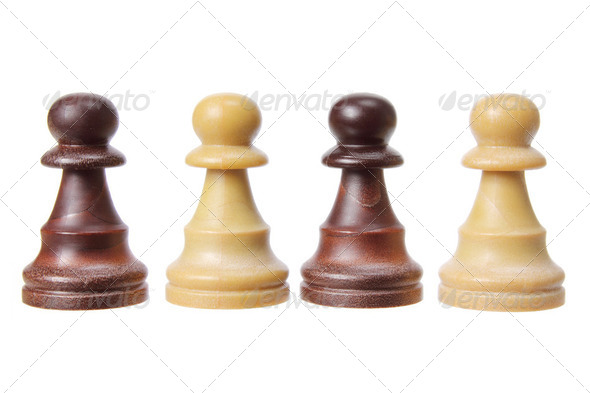 Chess Pawn Pieces - Stock Photo - Images