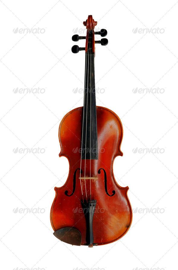 old violin - Stock Photo - Images