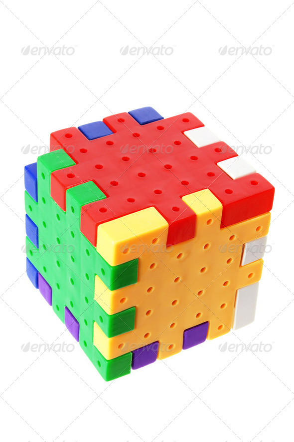 Plastic Puzzle - Stock Photo - Images