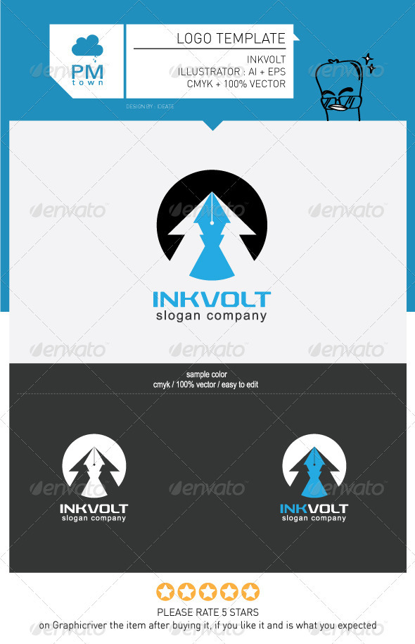 INKVOLT - Objects Logo Templates