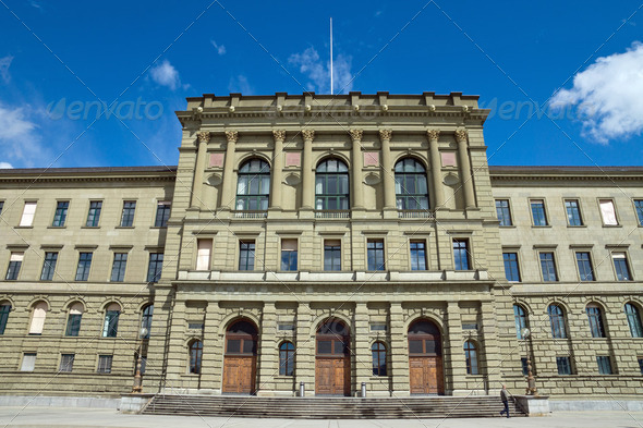 The University of Zurich - Stock Photo - Images