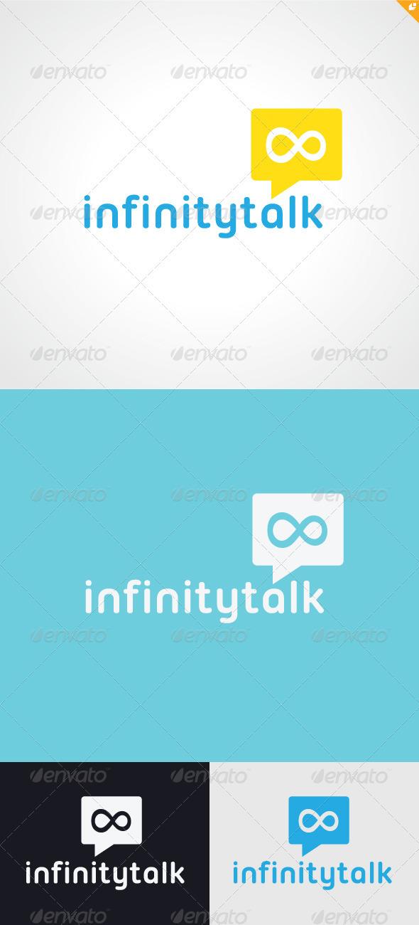 Infinity Talk Logo - Humans Logo Templates