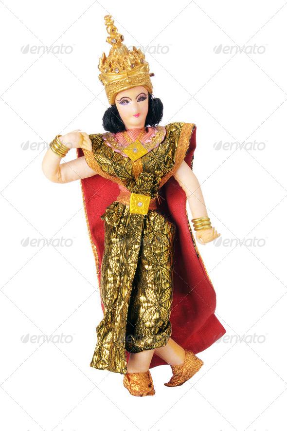 Thai Dancer Figurine - Stock Photo - Images