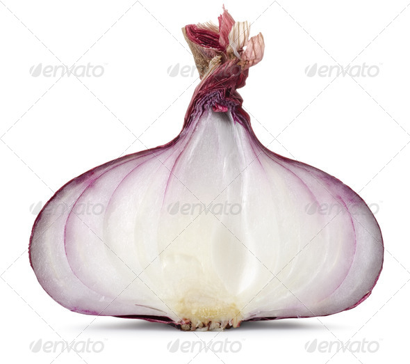 Sliced Red onion - Stock Photo - Images