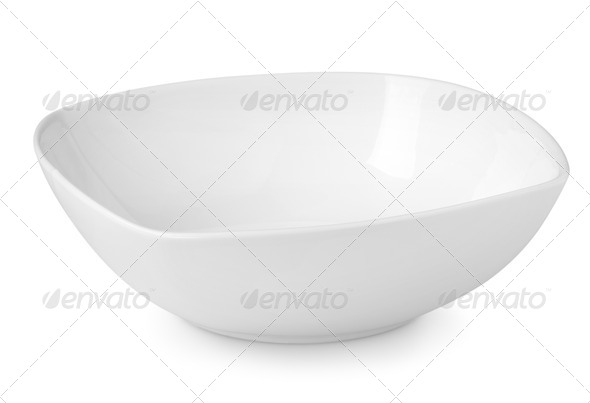 Plate for salad - Stock Photo - Images