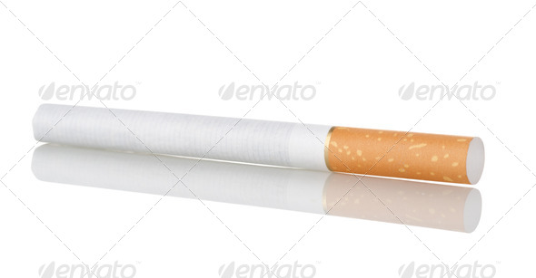 Cigarette - Stock Photo - Images
