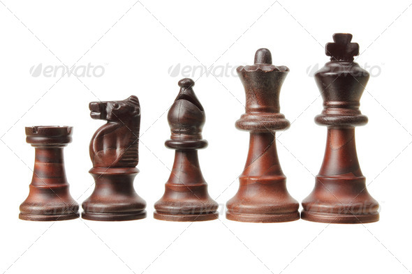 Chess Pieces - Stock Photo - Images