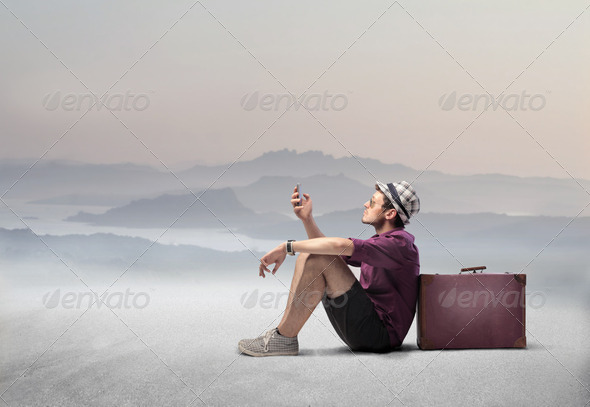 Stay connected - Stock Photo - Images