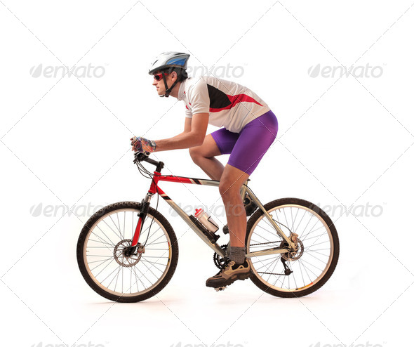 Cyclist - Stock Photo - Images