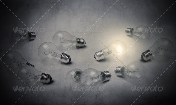 Innovative idea - Stock Photo - Images
