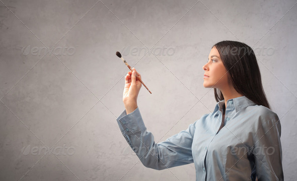 Painter - Stock Photo - Images