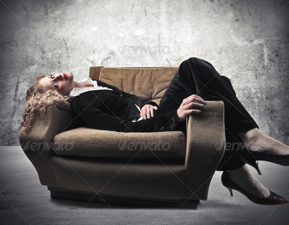 Pause from work - Stock Photo - Images