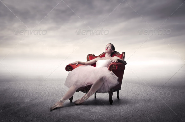 Relax after rehearsals - Stock Photo - Images