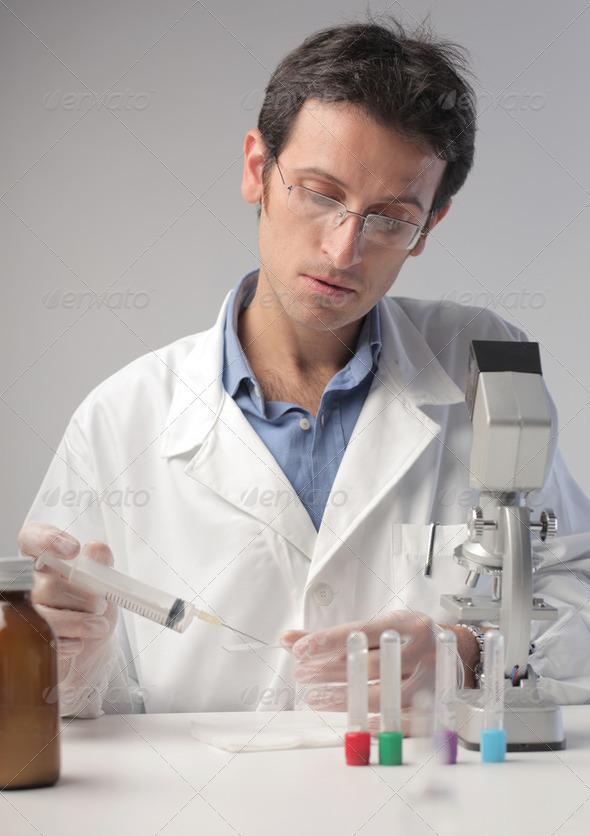 Scientist - Stock Photo - Images