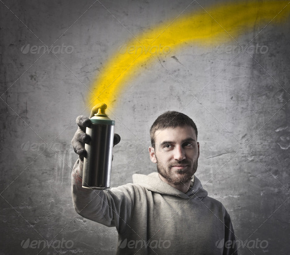 Color the city - Stock Photo - Images