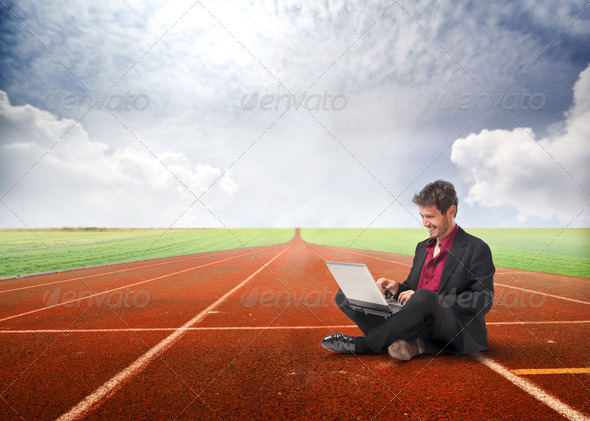 Competitive business - Stock Photo - Images
