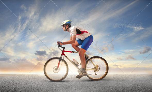 Mountain bike - Stock Photo - Images