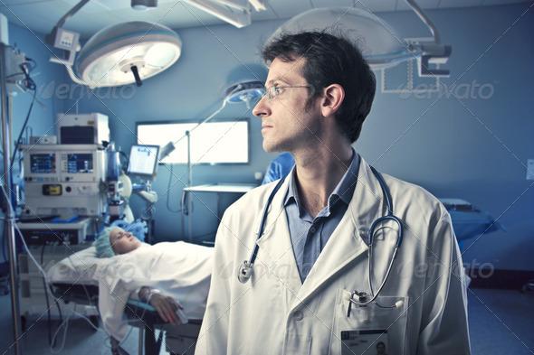 Surgeon - Stock Photo - Images