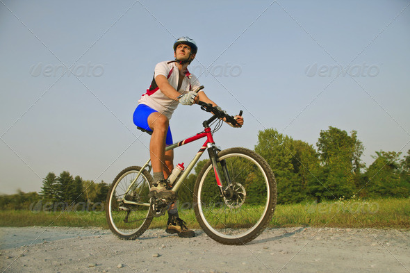 Bike ride - Stock Photo - Images