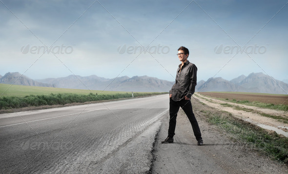 Trip to the land - Stock Photo - Images