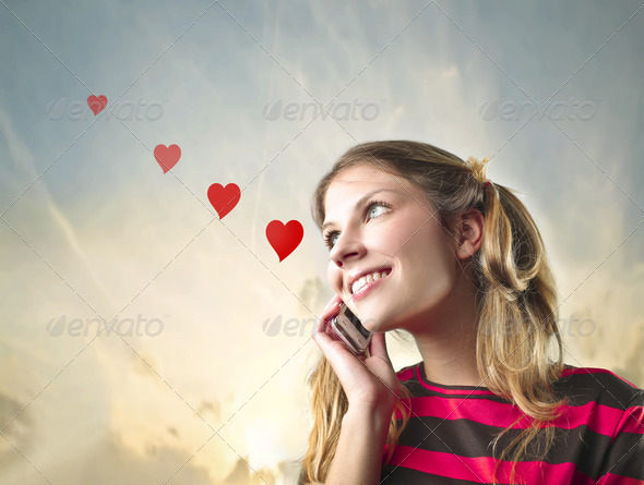 Love call - Stock Photo - Images