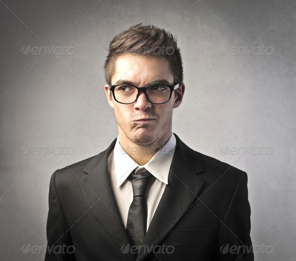 Uncomprehension - Stock Photo - Images