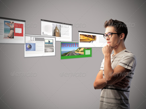 Web designer - Stock Photo - Images