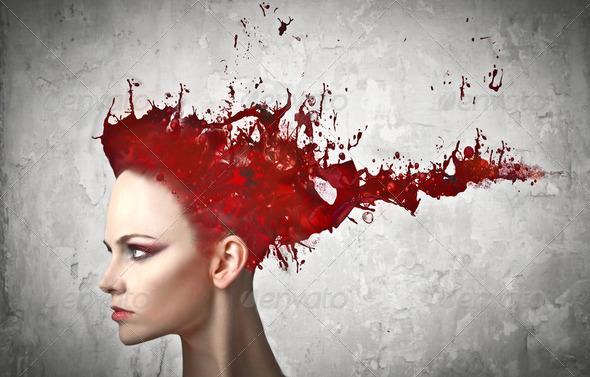 Hair dye - Stock Photo - Images