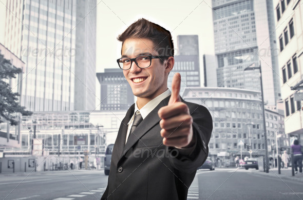 Thumbs up - Stock Photo - Images