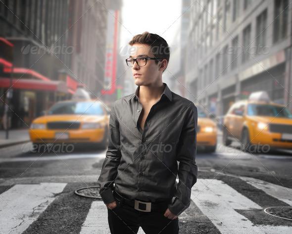 Urban fashion - Stock Photo - Images