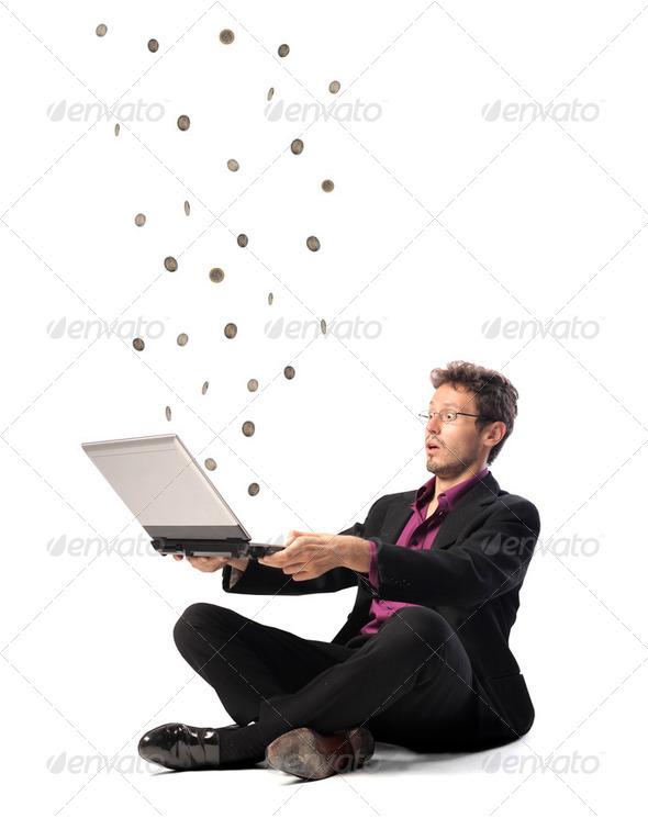 Earn money - Stock Photo - Images