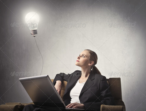 Creativity in business - Stock Photo - Images