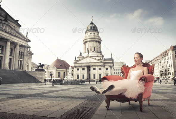 After the performance - Stock Photo - Images