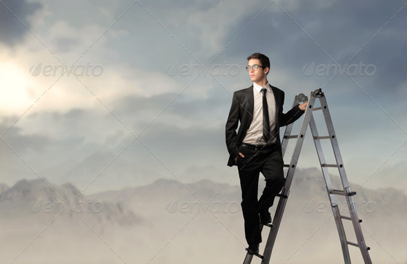 Look ahead - Stock Photo - Images