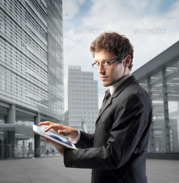 Modern business - Stock Photo - Images