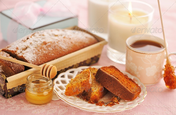 Fruit cake - Stock Photo - Images