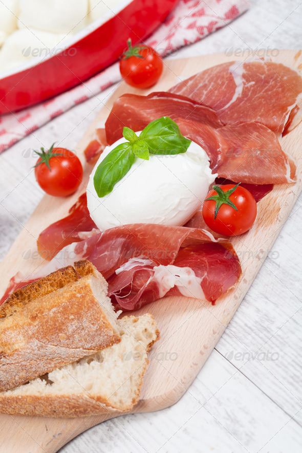 Italian Mozzarella - Stock Photo - Images