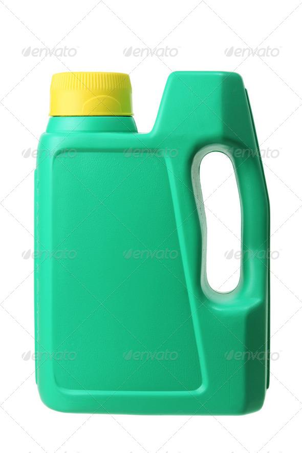 Plastic Oil Bottle - Stock Photo - Images
