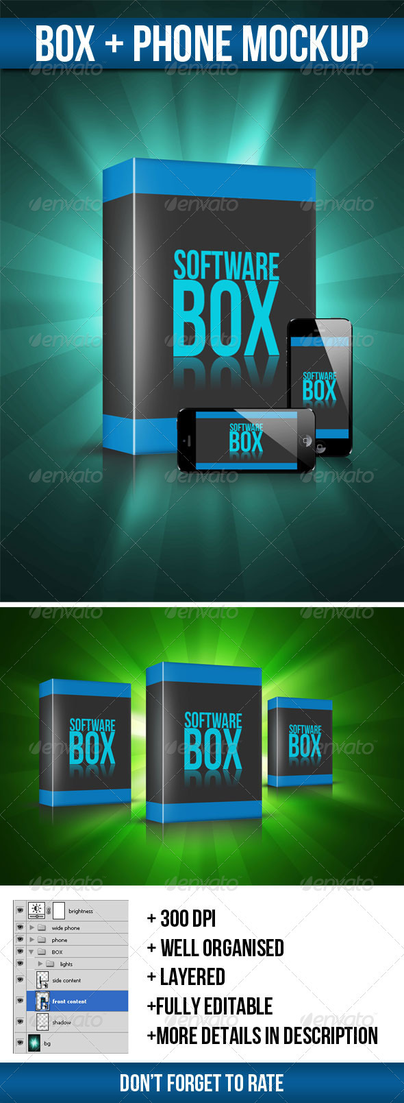 Box Mock-up - Miscellaneous Packaging