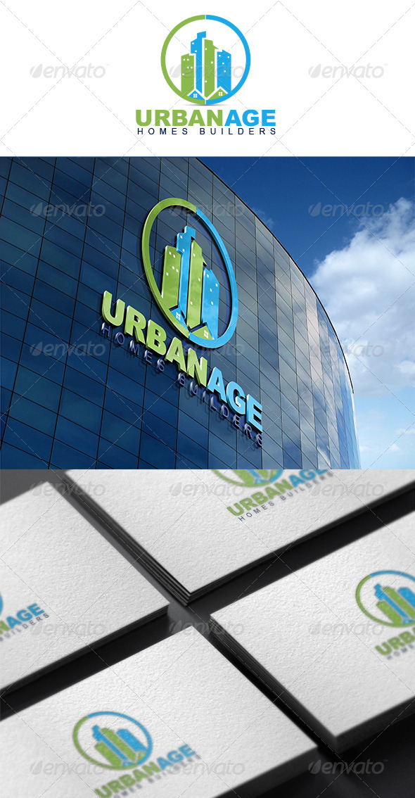 Urban Age - Buildings Logo Templates